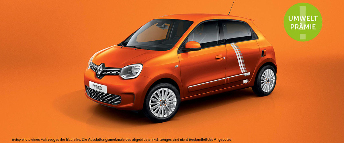 Renault Twingo Electric Angebot