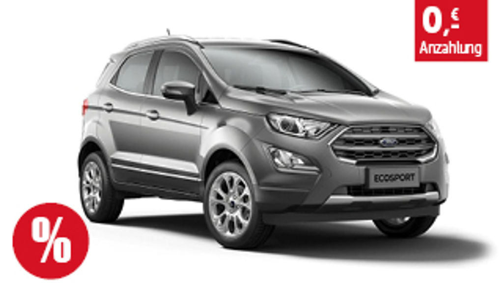 Ford EcoSport Titanium Privat Leasing Angebot