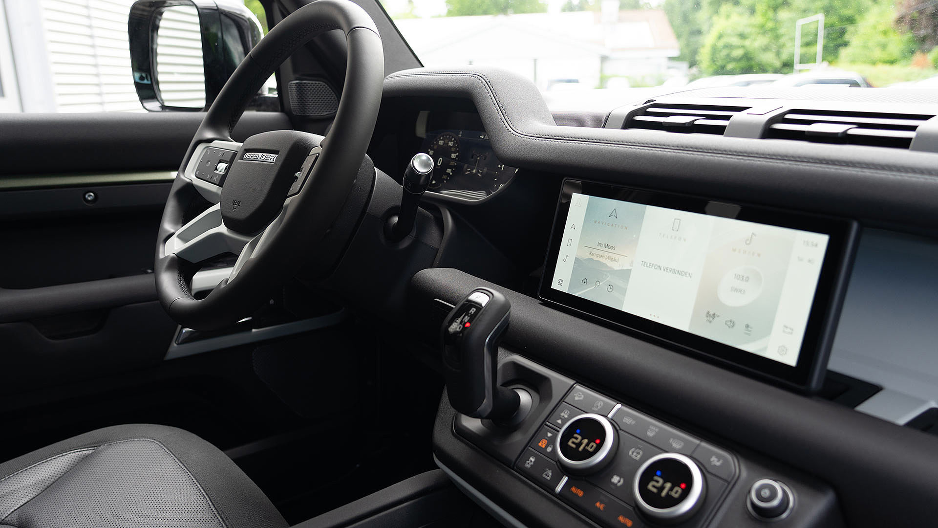 Land Rover Defender Cockpit