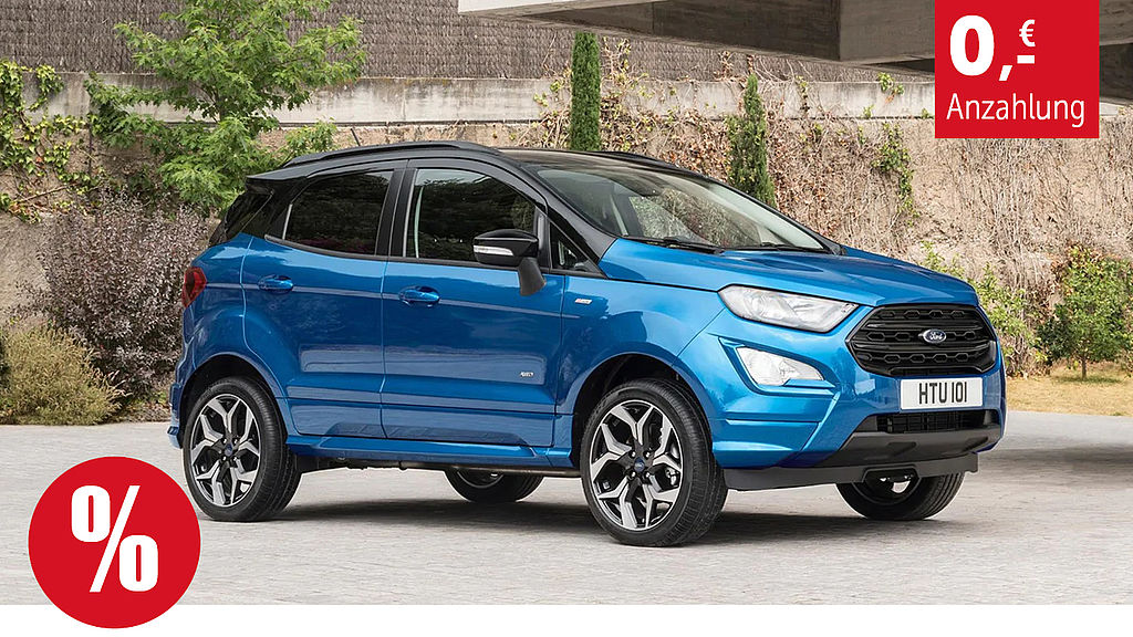 Ford Ecosport Privat Leasing Angebot