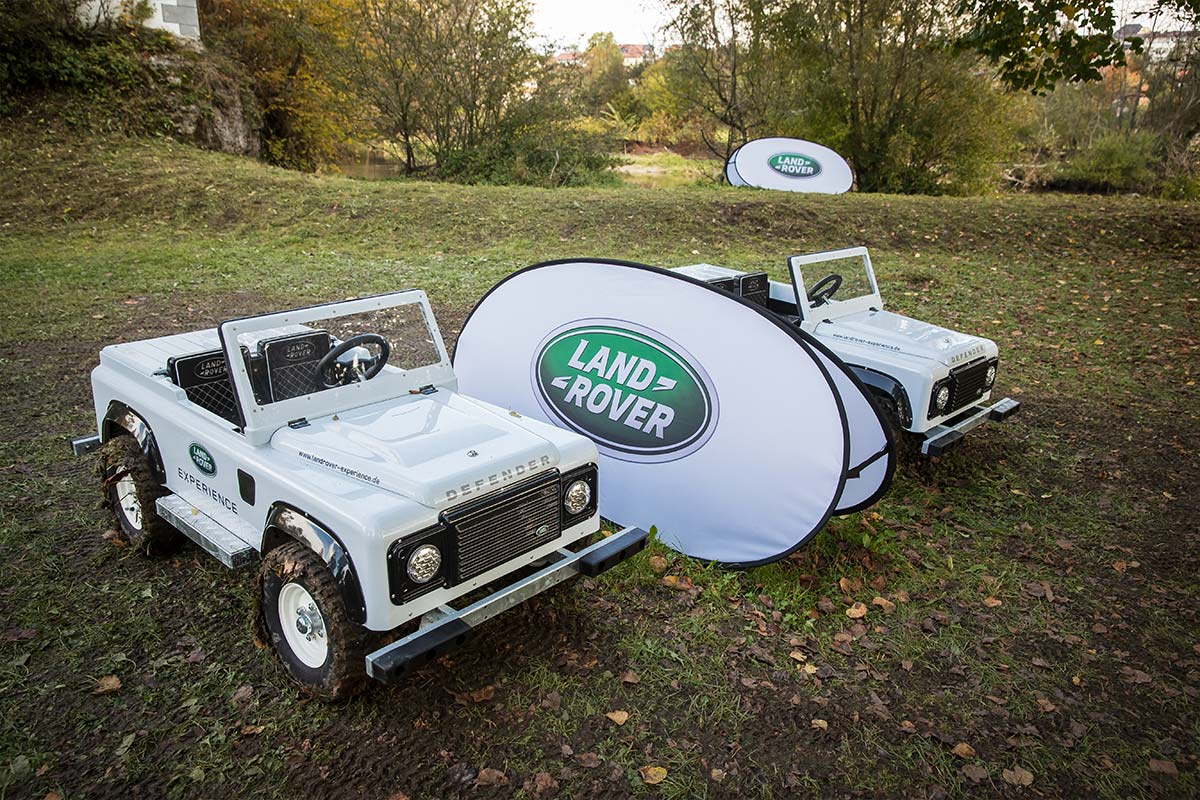 Driving Days 2020 Land Rover Miniatur