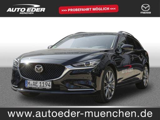 Mazda 6  2.2 CD SKYACTIV-D 184 Sports-Line LEDER, EURO 6d