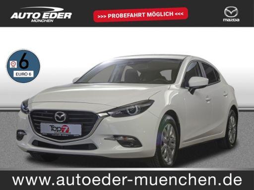 Mazda 3  2.0 SKYACTIV-G 120 BM Exclusive-Line Navi, Sitzh