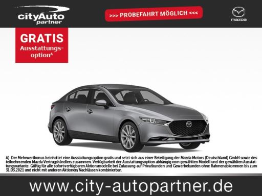 Mazda 3  SELECTION  SKYACTIV-G 2.0 150PS M Hy  150PS