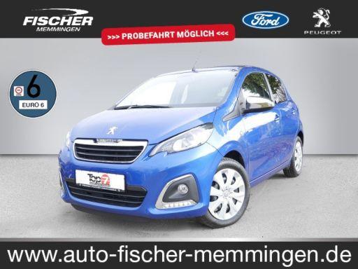 "Peugeot 108  VTI 72 Top! Style  ""Faltdach, ALU, Sitzheizung"