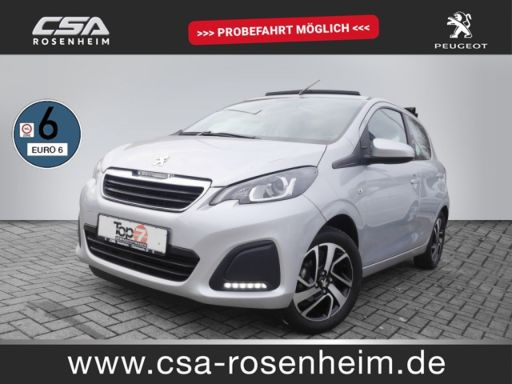Peugeot 108  1.0 VTi TOP Active